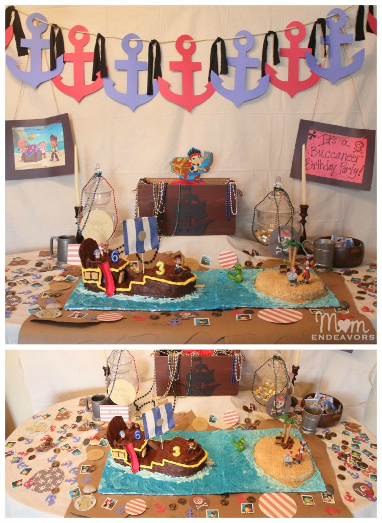 Jake & The Never Land Pirates Dessert Table