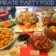Jake and the Never Land Pirates Birthday Party Food