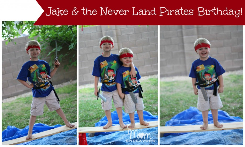 Jake & the Never Land Pirates Birthday Boys