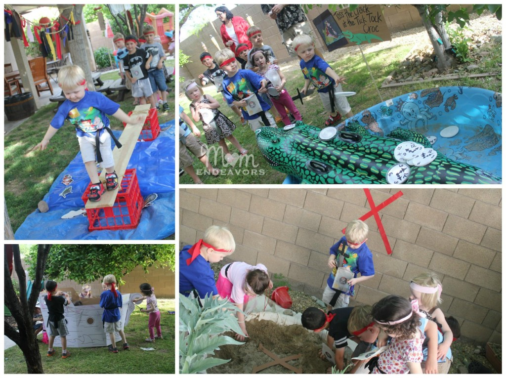 Jake & the Never Land Pirates Birthday Party Activities