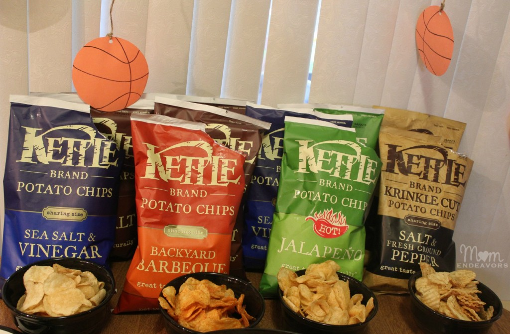 Kettle Chips Taste Test