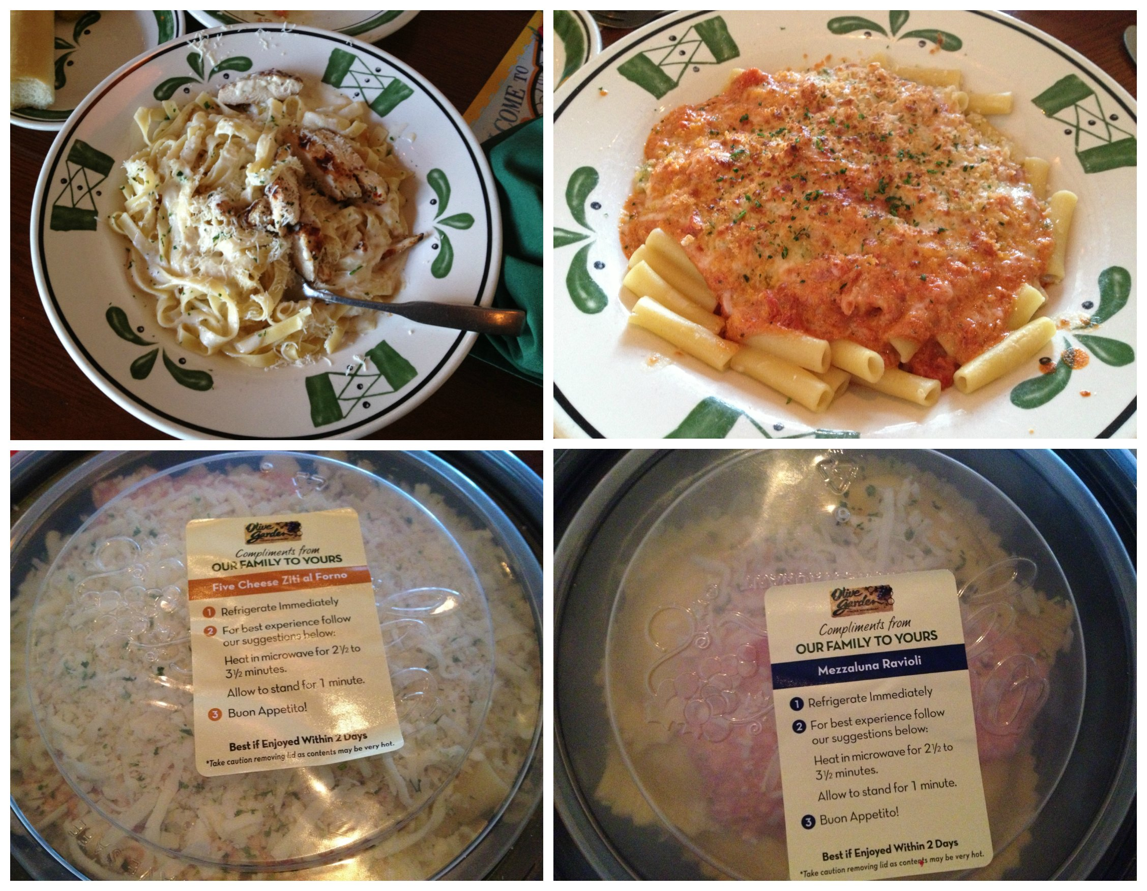 Family Dinners With Olive Garden S Buy One Take One Deal 75