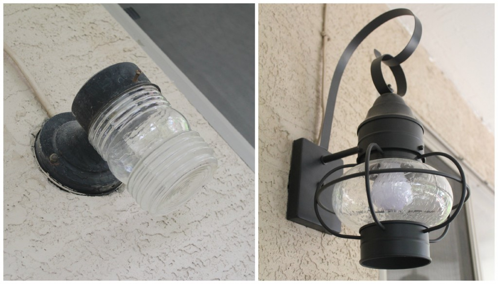 Patio Lighting Makeover