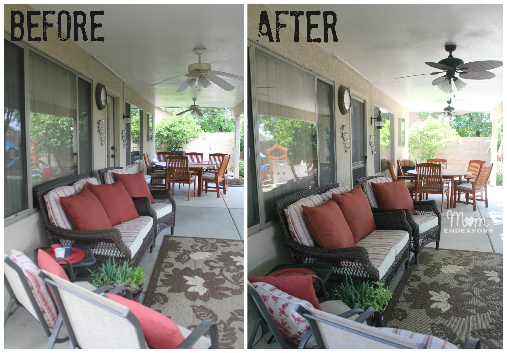 Patio Makeovers Home Design Ideas and