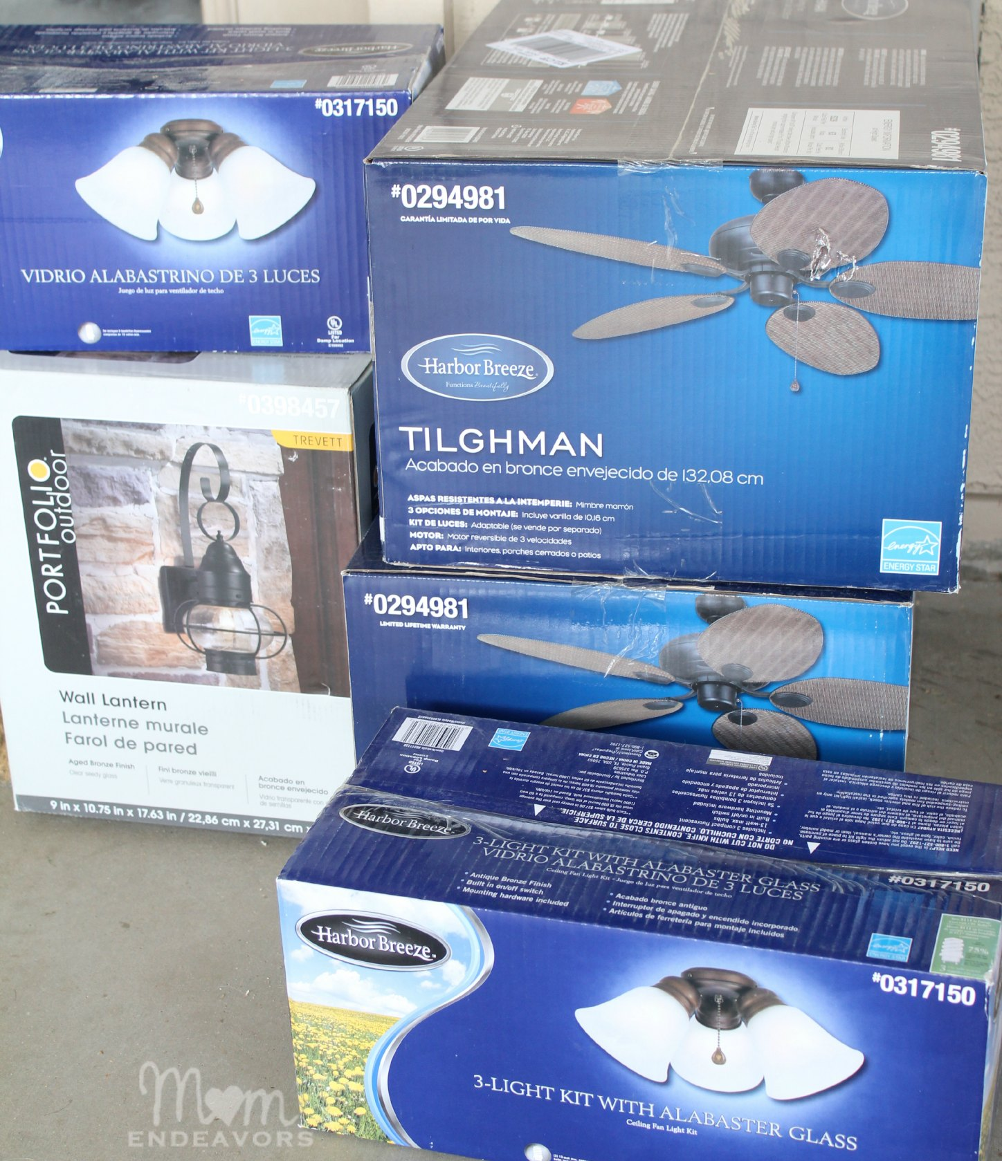 Patio Lighting & Ceiling Fan Makeover LowesCreator