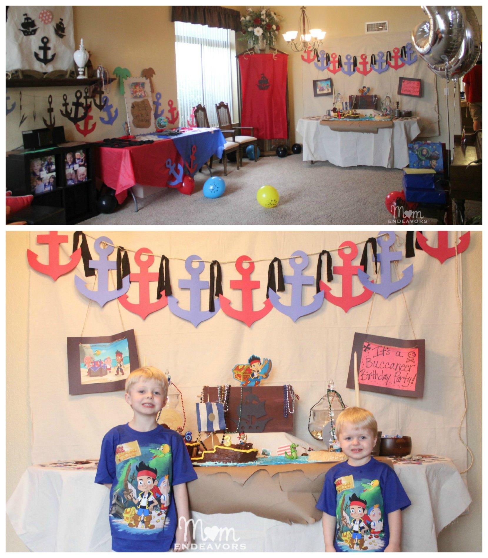 Пиратская вечеринка украшение зала своими руками 19