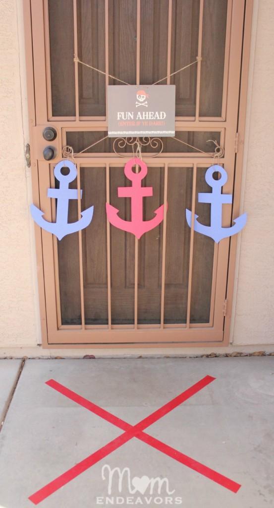Pirate Party - Front Door