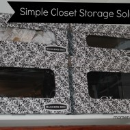Closet Organization with Fellowes #BankersBox!