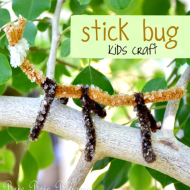 Kids Craft: Make a Stick Bug!