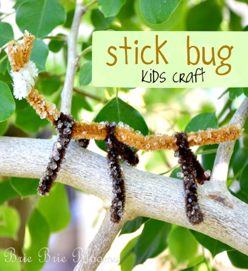 Stick Bug Kids Craft