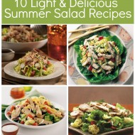 10 Light & Delicious Salad Ideas with Tyson® Grilled & Ready® Chicken!