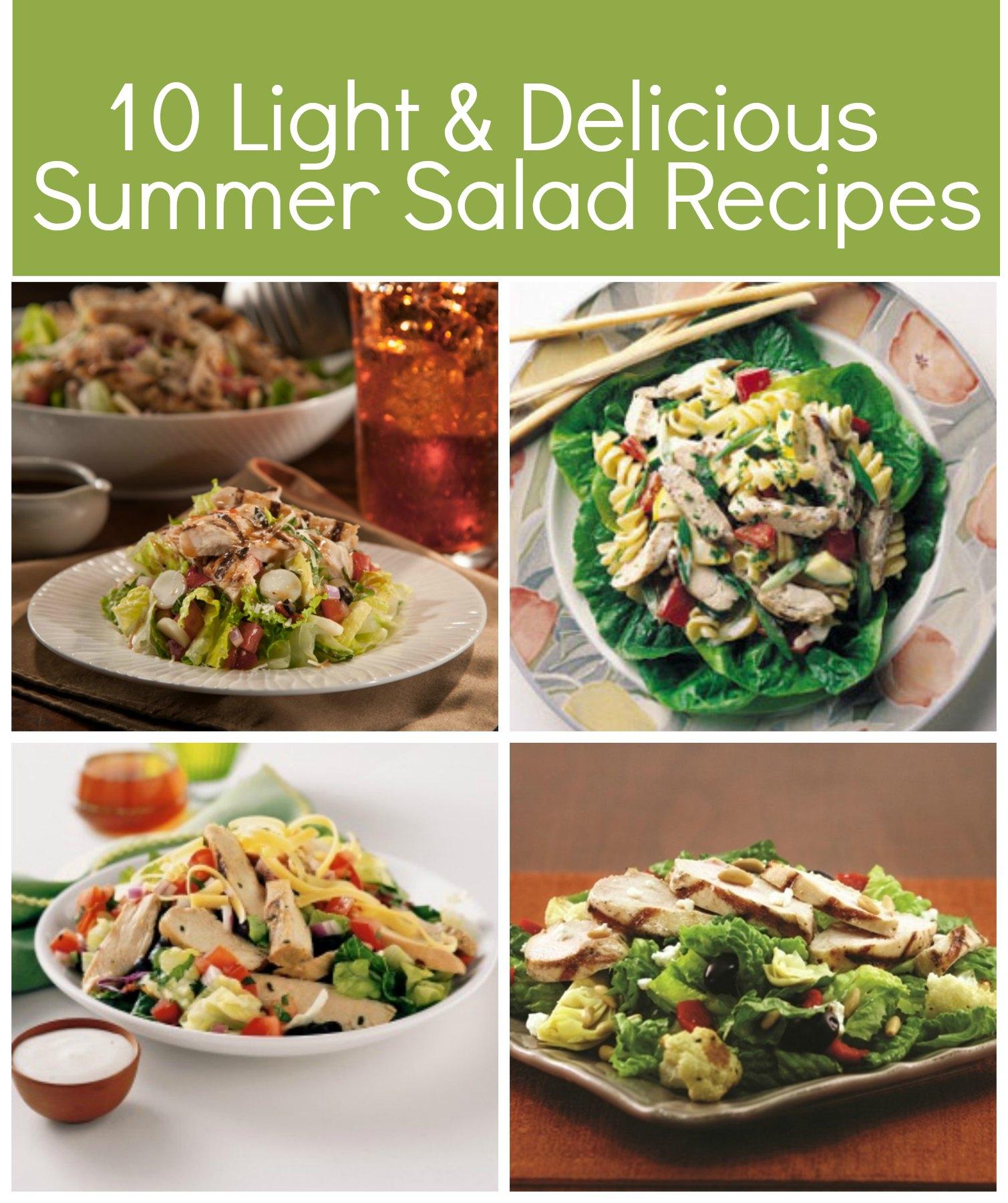 10 Light Salad Recipes