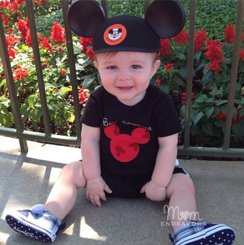 Baby Brother Mickey Ears