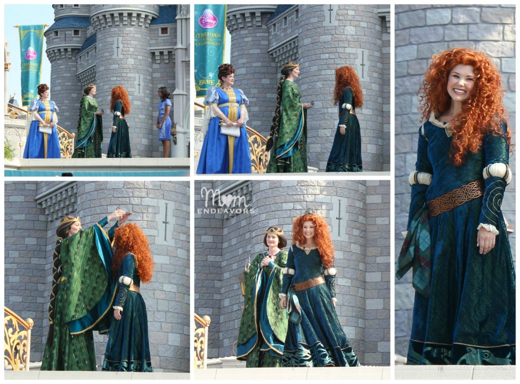 Crowning Merida