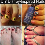 DIY Disney-Inspired Nail Art #IHeartMyNailArt