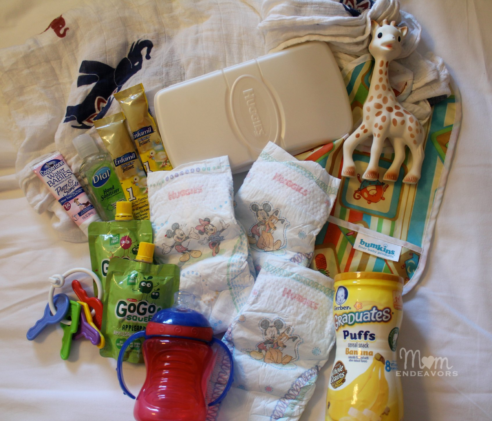 Disney Diaper Bag Essentials