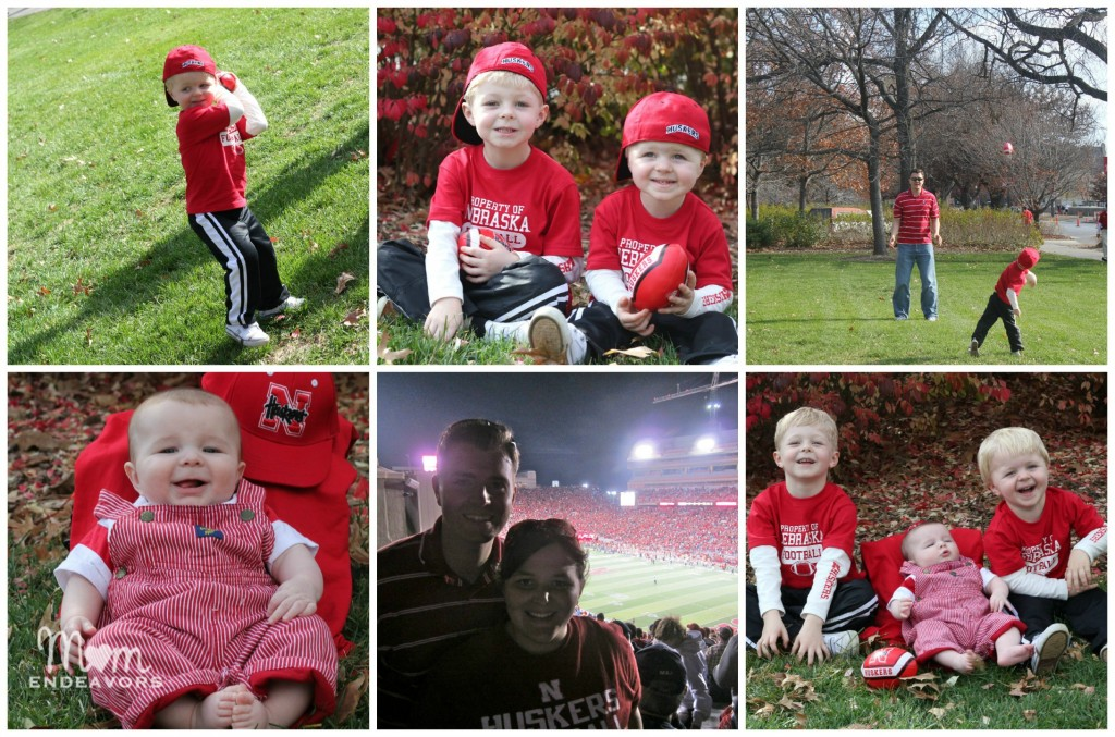 Huskers Family Collage