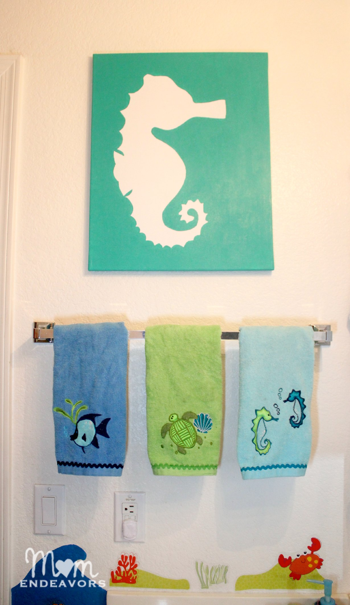 Diy Kids Bathroom Decor beach bathroom decor diy. awesome beach theme bathroom redo for
