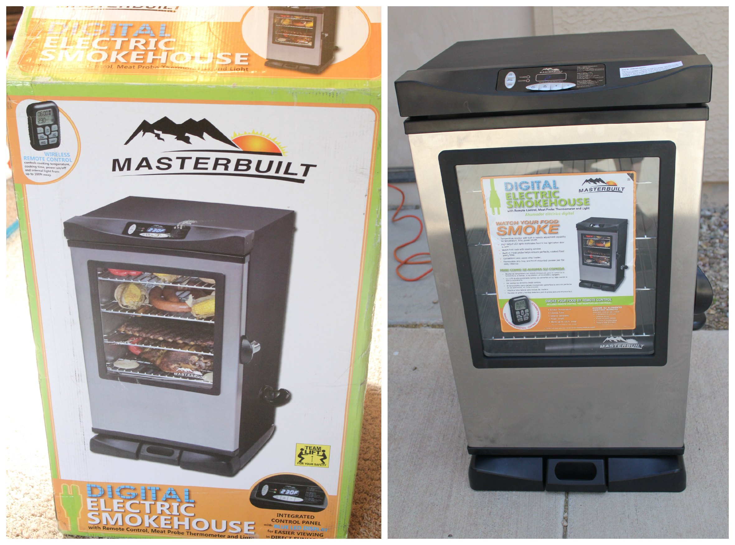 Delicious Summer Cooking with a Masterbuilt Electric Smoker! #A66425