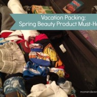 Vacation Packing: Spring Beauty Products Must-Haves #JergensNaturalGlow {Travel Tuesday}
