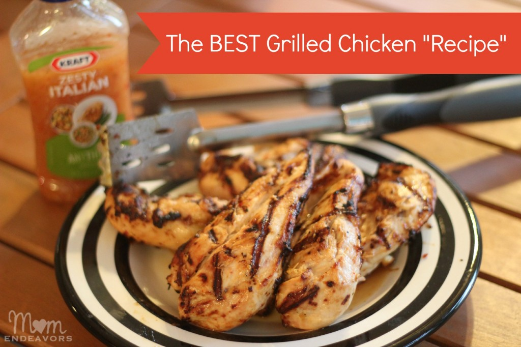 The BEST (& easiest) grilled chicken!