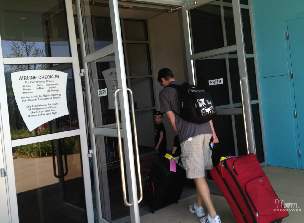 Walt Disney World Resort Airline Check-in