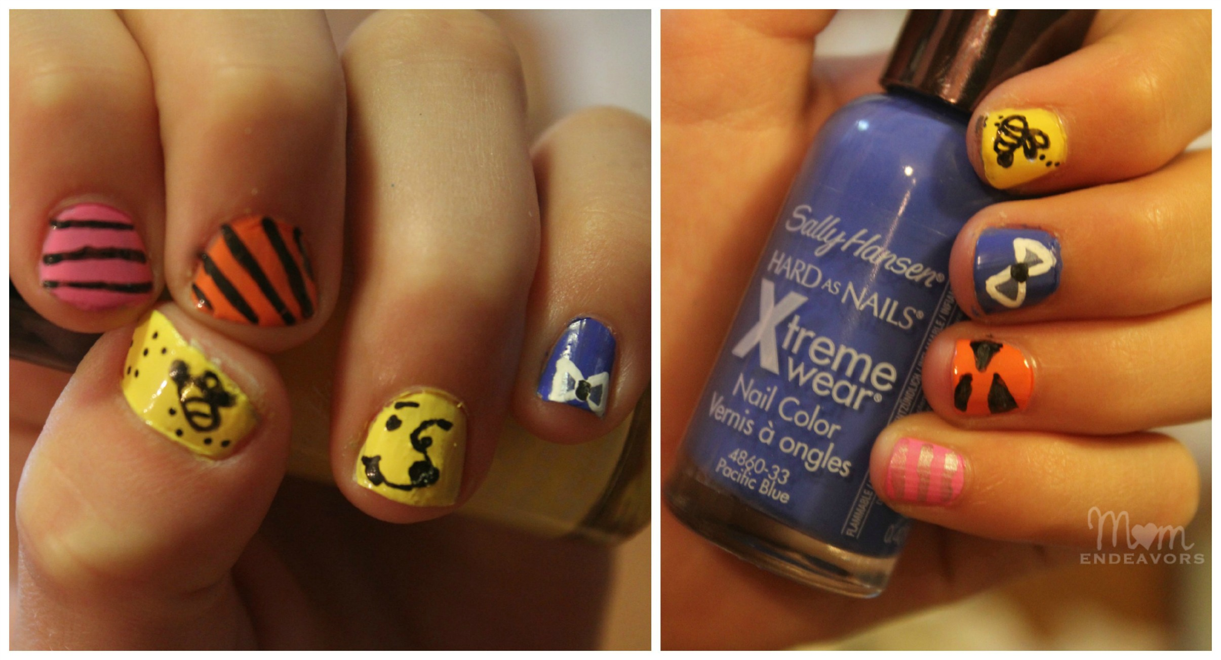 Diy Disney Inspired Nail Art Iheartmynailart