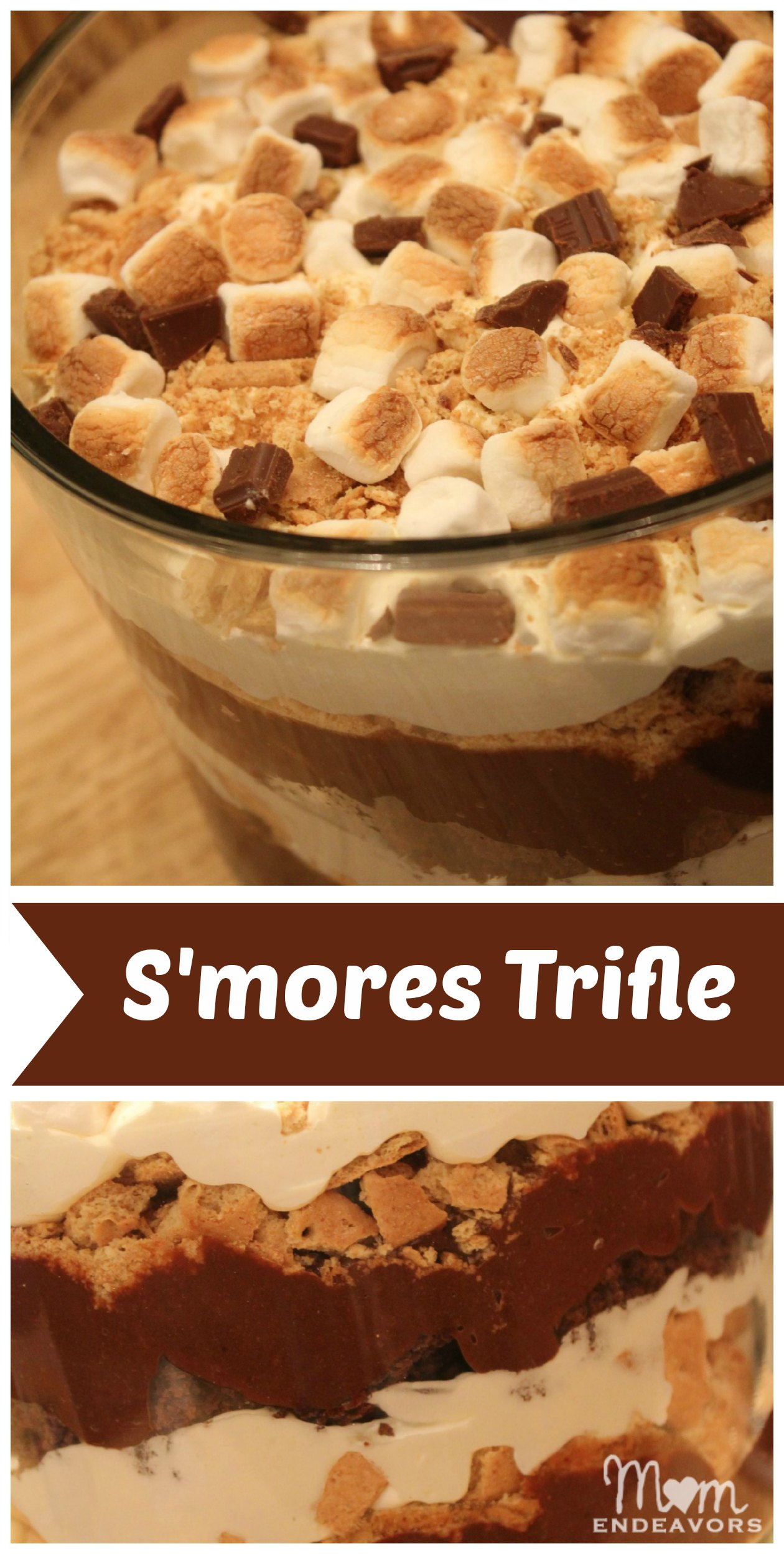 Brownie S'mores Trifle