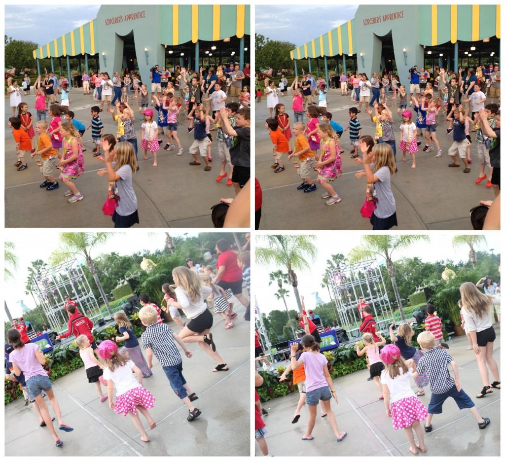 Disney Social Media Moms Dancing