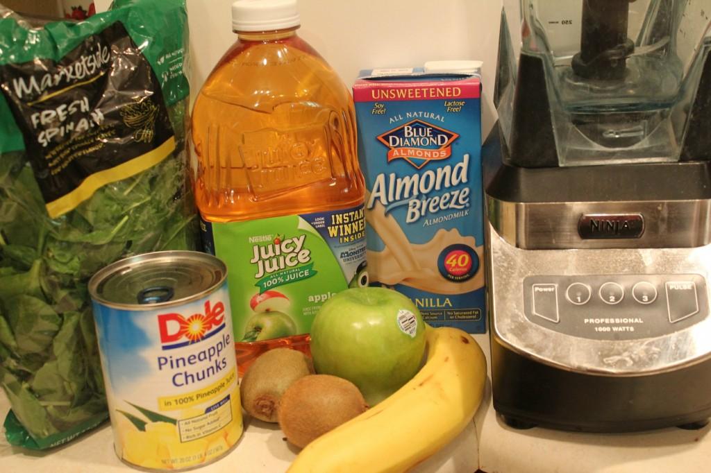 Green Smoothie Ingredients #MUJuice