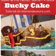 DIY Bucky Pirate Ship Cake Tutorial {Jake and the Never Land Pirates Birthday}