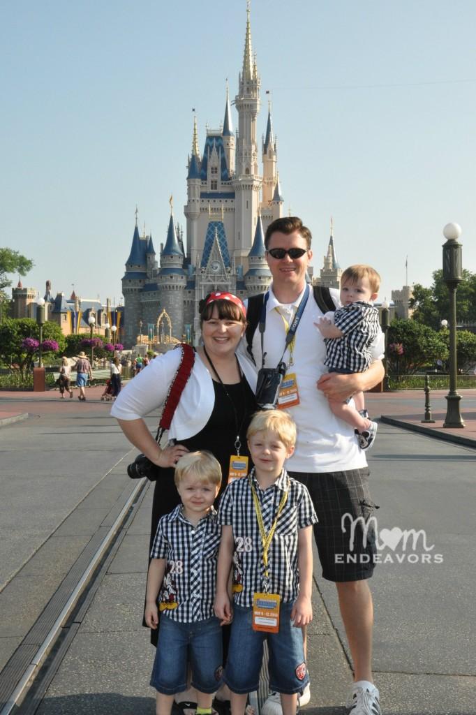 Magic Kingdom Family Photo