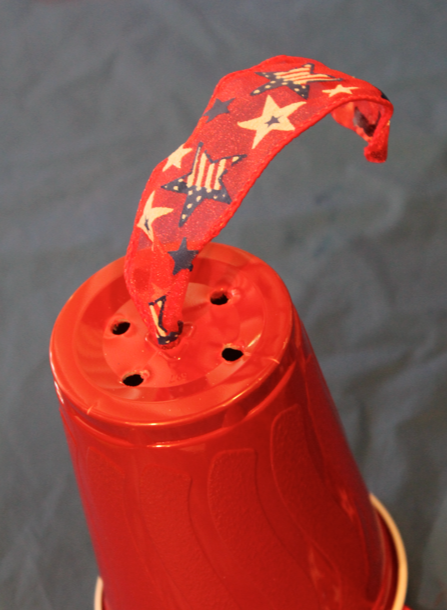 Making 4th of July Noisemaker