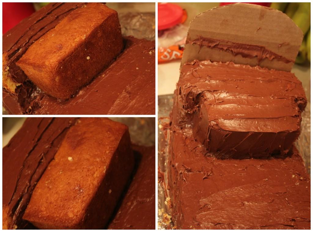 Making a Bucky Cake