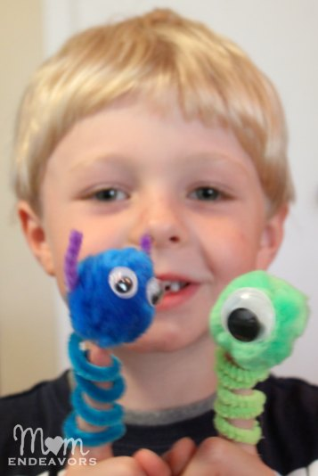 Mike & Sulley Monsters Finger Puppets
