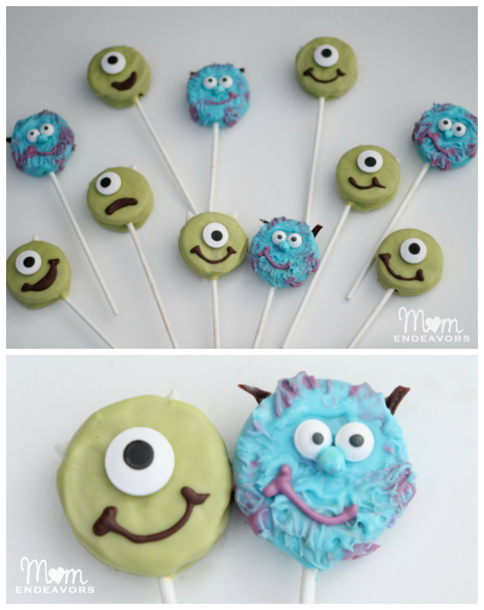 Mike & Sulley Monsters Pops