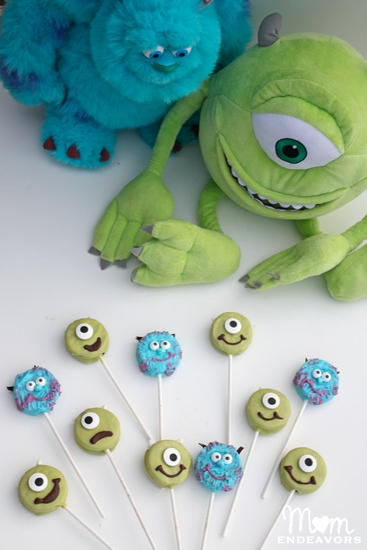 Mike & Sulley Monsters fun treats