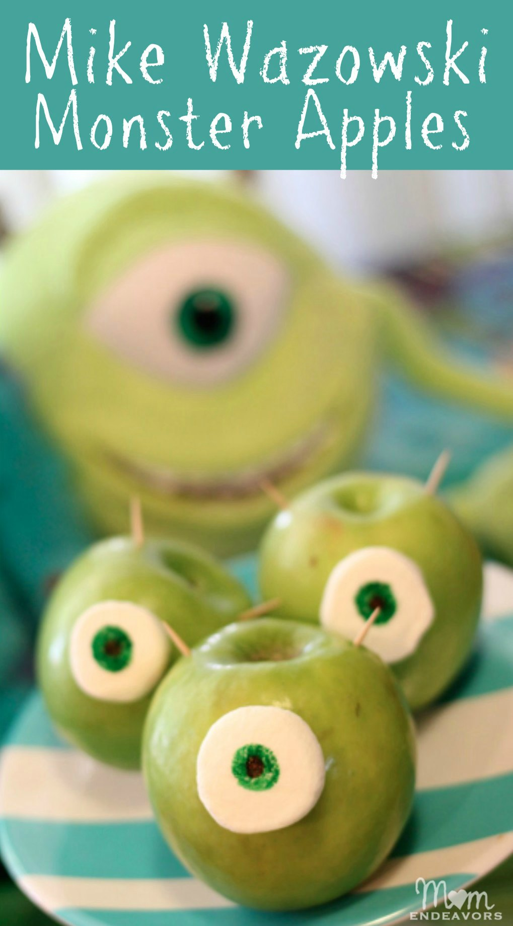 Mike Wazowski Apples