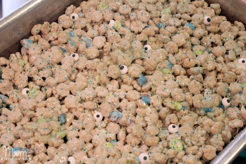 Monster Cereal Treat Bars
