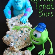 Monsters University Cereal Treat Bars