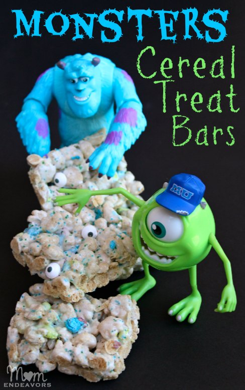 Monsters Cereal Treat Bars