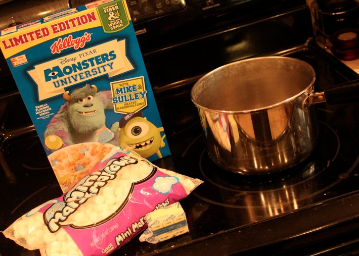 Monsters University Cereal