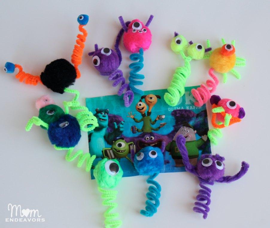 Monsters University Finger Puppets