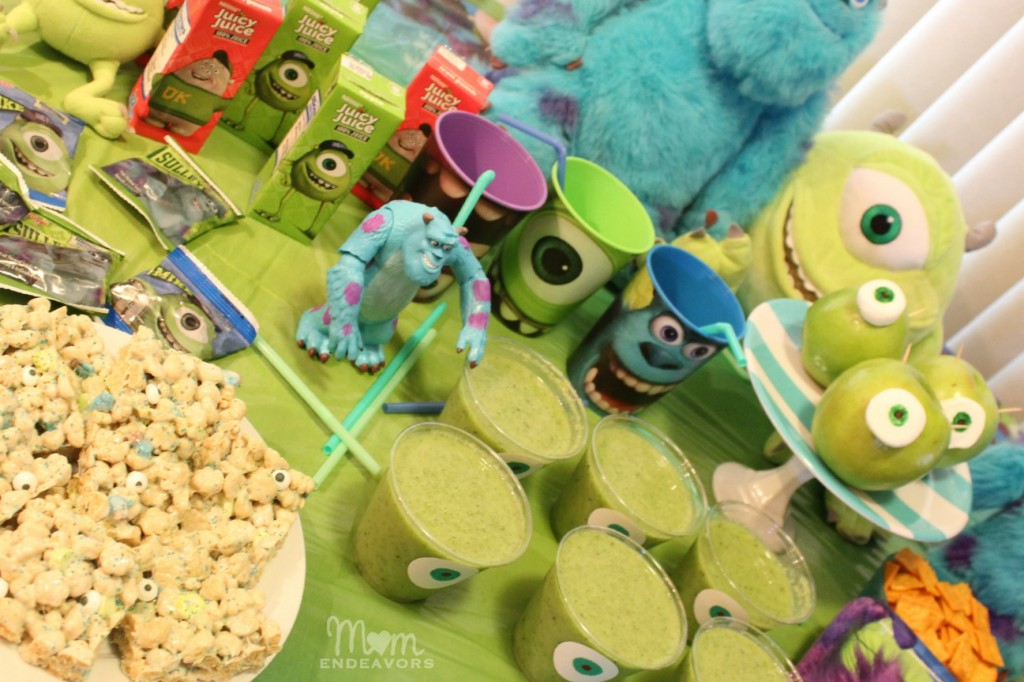 Monsters University Fun Foods