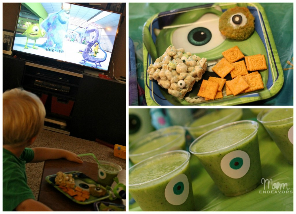 Monsters viewing party