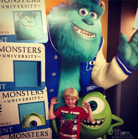 #MonstersU screening
