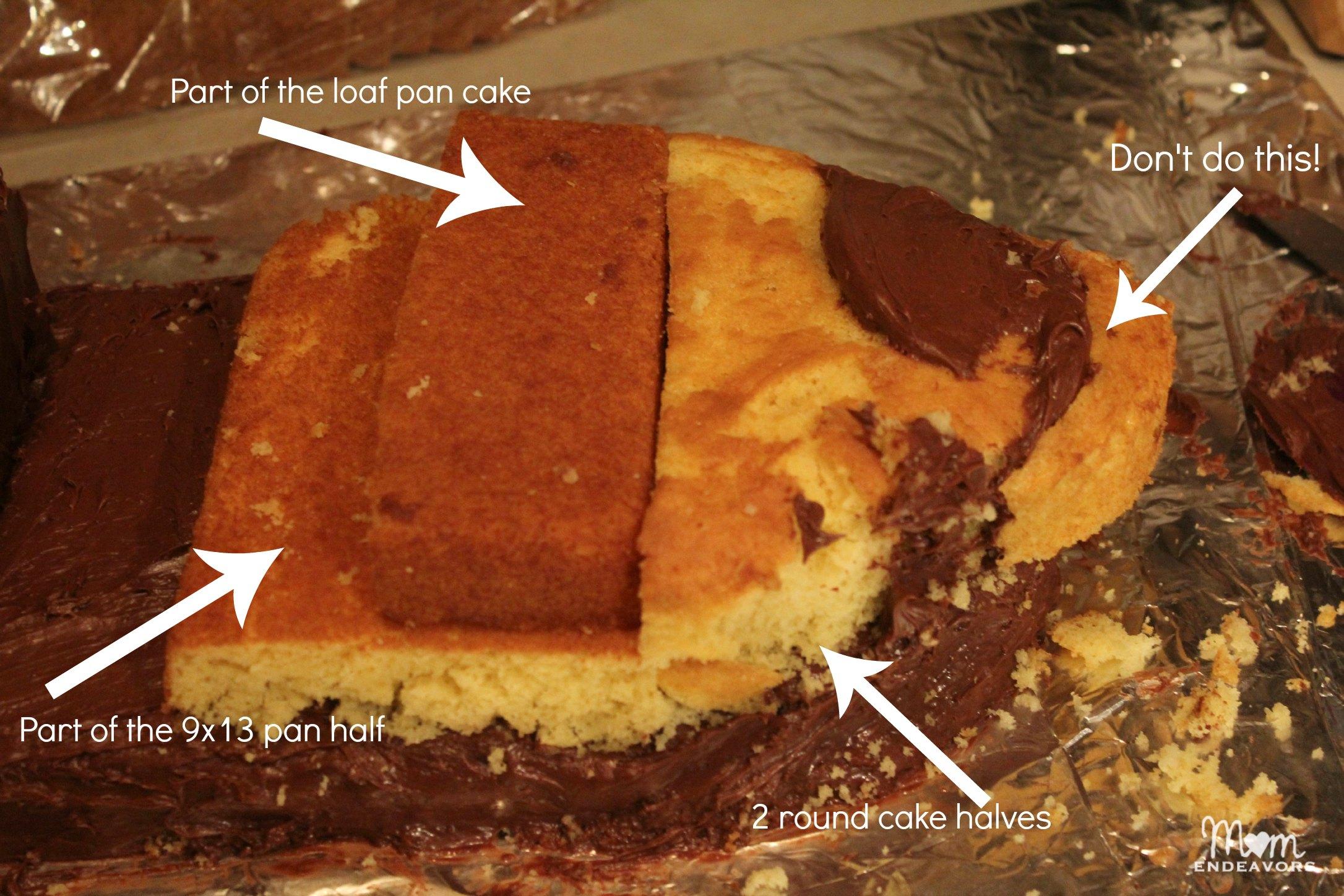 How To Make Bucky Pirate Ship Cake