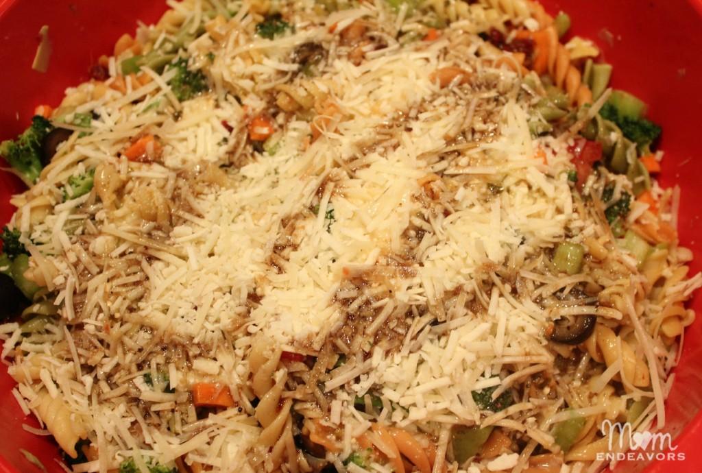 Parmesan Italian Pasta Salad