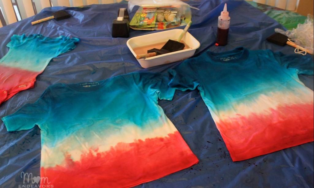 Patriotic Tie Dye Tshirts