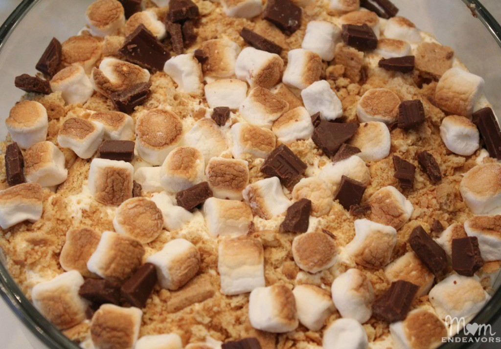 Roasted Marshmallow S'mores Trifle